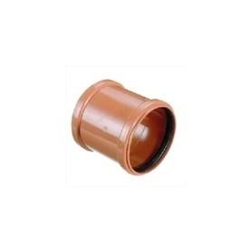 Skydemuffe/Dobbelt Muffe 110 mm