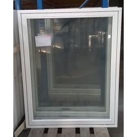 Topstyret Vindue 95x119cm Hvid Malet / Hvid Aluliste