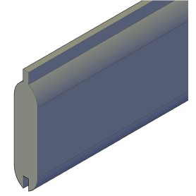 Blokhusprofil 38 x 150 mm x 180 cm