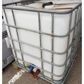 Pallecontainer 1000 liter - Brugt