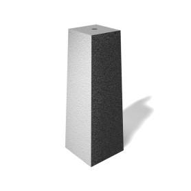 Stolpesten beton 50 cm m/gevind