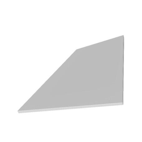 Facadeplader Grå 6/8 mm Fibercement