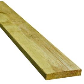 16x100 mm Trykimprægneret Hegnsbrædder