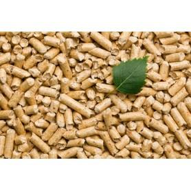 Træpiller løssalg 16kg sæk