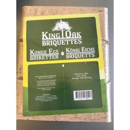 Briketter Konge Eg 960 kg