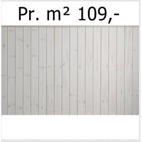 Profilbrædder Siljan A.Sortering Hvidolie 15 x 120 mm