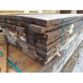 Planker 50x150 mm trykimp. Vejrgrå 63 stk à 450 cm ialt 283 m