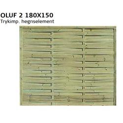 Lamelhegn Trykimp. B 180 H150 cm RESTPARTI