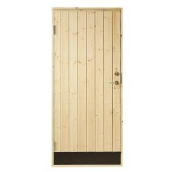 JABO Udhus/Baghusdør 10° 78,6x197,8 cm (80x200 cm) Venstre Ud