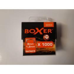 Hæfteklammer Boxer (Kasse med 10 æsker)