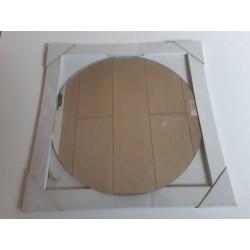 Spejl Rundt D 48,5 - 58,4 - 68,4 cm 4 - 3 - 2 Stk Pr Pakke Incl. Beslag