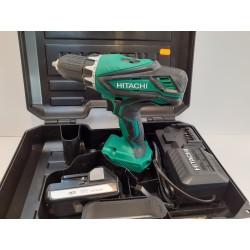 Hitachi 18V Skruemaskine 2x1,5Ah Batterier