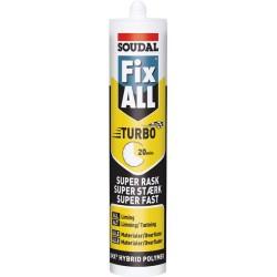 Soudal Fix All Turbo Hurtigtørrende Hvid