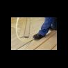 Gulvspån 25 mm Med Riller (20 mm) 62x182 cm 2 Paller 56 stk Ca 64 m²