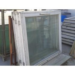 Topstyrede vinduer B. 131 x 119 cm (Sælges kun 10 stk samlet) Stort Parti