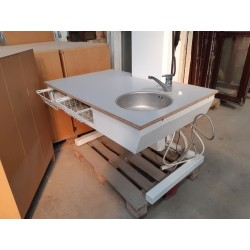 Elektrisk Hæve/Sænke Bord Med Vask