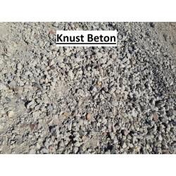 Knust Beton Ren - Knust Beton og Tegl - løs Vægt