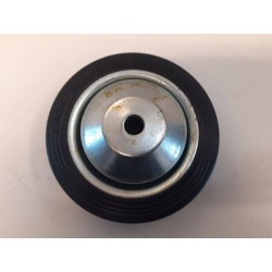 Hjul 8 mm Hul - M/Rullelejer 80x27 mm