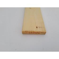 Forskalling 25x120 mm Parti Faldende Længder 1 Høvlet side og 3 Ru sider