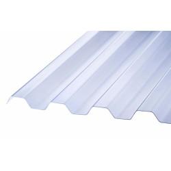 Trapezplader blåtonet PARTI 109x240 cm
