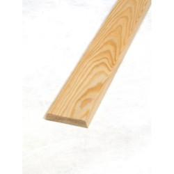Indfatning 15x68 mm ubehandlet fyrretræ pr. m. 10,00 kr
