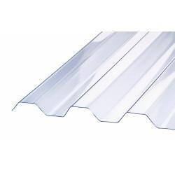 Trapezplader Glasklar 111,5x620 cm