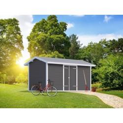 PLUS Modul redskabsrum m/saddeltag - 10 m²