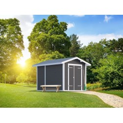 PLUS Modul redskabsrum m/saddeltag 7,5 m²