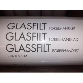 Color Glasfilt Forbehandlet 1x25 Mtr.