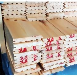 C.sortering  fyr med fas 20,5 x 142 mm - 104,42 m2