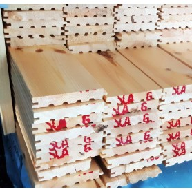 C.sortering  fyr med fas 26,5 x 165 mm - 82,25 m2