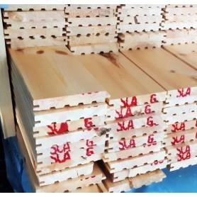 C.sortering  fyr med fas 26,5 x 165 mm - 70,2 m2
