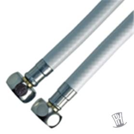 """Monteringsslange 1/2""""x1/2"""" - 300-400-500 mm Til Koldt Vand"""