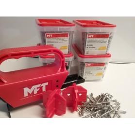 MFT TILBUD Terrasse Monteringsværktøj incl. 1000 Skruer