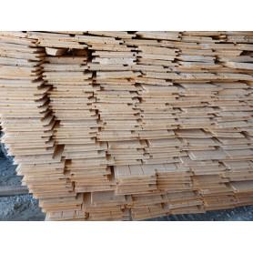 Profilbrædder 15x120 mm Ru c. Sortering Ca. 160 m²