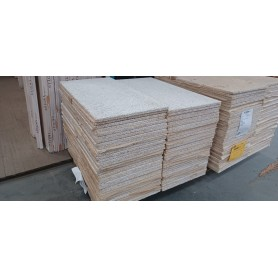 Træbeton (Har været omlæsset) sælges i pakker af 80 stk.