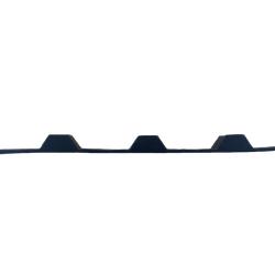 Bølgeskum stålplade Under 20/100 lille top