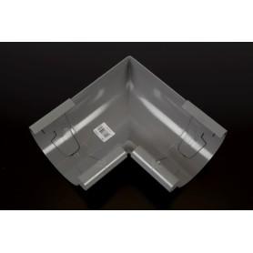 Rodena PVC Indvendig gering 90° str. 100. Grå