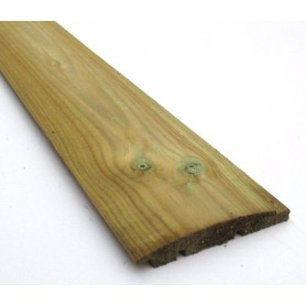 19x100 mm Trykimprægneret Blokhusbrædder