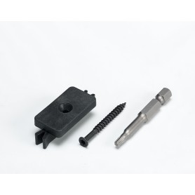 ideck monterings clip/skrue 100stk.