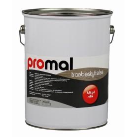 Promal Træbeskyttelse Heldæk, Alkyd/Olie 5 Liter