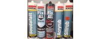 Fugemasse Silicone/Acryl/Lim/Asfalt