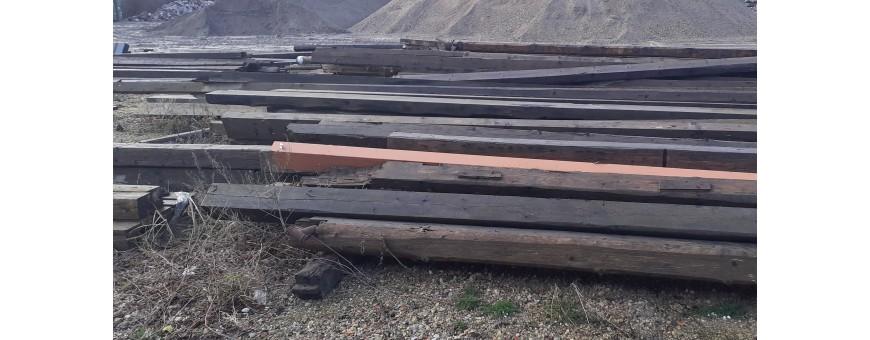 Bjælker Træ/jern/Limtræ Brugte