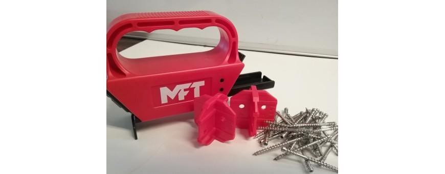 MFT Monteringsværktøj og skruer til terrassebrædder